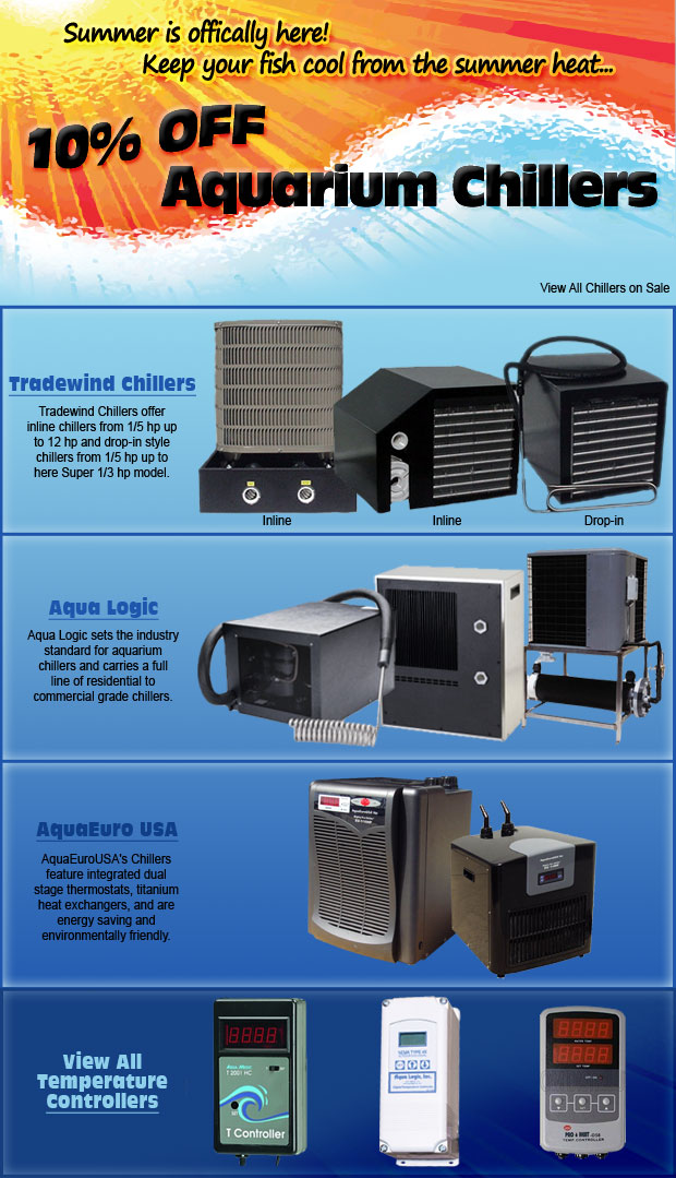 Chillers on sale