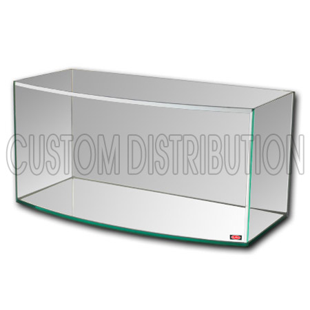 13.3 Gallon Glass Model MA-120 Bow Front Aquarium, Mr. Aqua