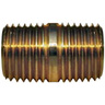 1/8 in Brass Closed Nipple, MPT
