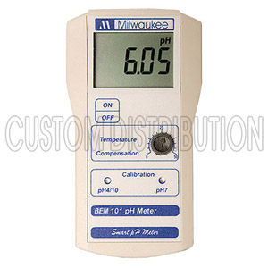 BEM101 Ph Monitor Automatic Calibration, Milwaukee