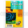 Frozen Coral Food Mix - 100g Blister Cubes, H2O Life