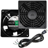 4 in. Fan (Power) 80 CFM T2 w/ Guard and Powercord, Hamilton
