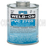 1/2 Pint Clear PVC Cement, PVC 2705, Low VOC