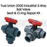 2 in. EPDM Seat w/ O-ring Kit for 3-Way Valve