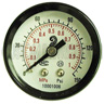 Pressure gauge, 2 inch dial, 1/8 inch MPT