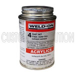 4 oz. #4 IPS Weld-On Acrylic Glue