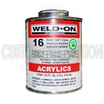 5 oz. #16 IPS Weld-On Acrylic Glue